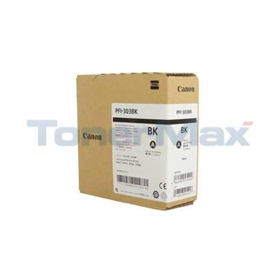 CANON IPF820 PFI-303BK INK TANK BLACK 330ML